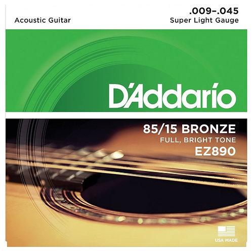 Set Cuerda Electroacustica Daddario 009-045