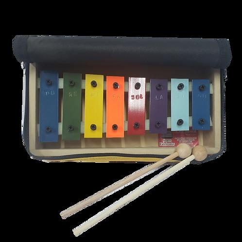 Metalofono 8 Notas Color