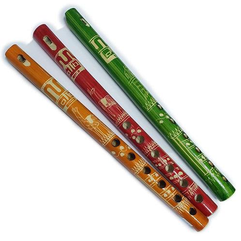 Flauta De Madera De Niño