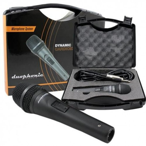 Micrófono Dinámico Cardioide Duophonic