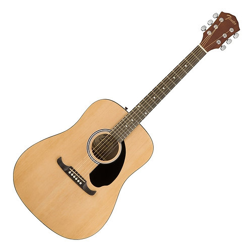Fender FA-125 Dreadnought Guitarra Acust Natural