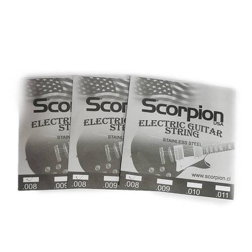 Cuerda Suelta Guitarra Eléctrica .008 Scorpion
