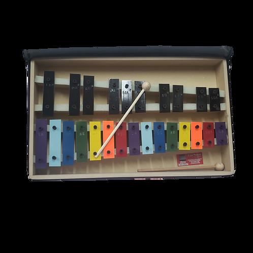 Metalofono Cromatico De 25 Notas