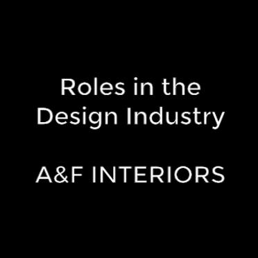 Roles in the Industry