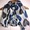 Thumbnail: Grey/blue heart scarf