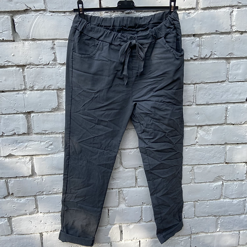 Charcoal magic pants