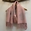 Thumbnail: Pink/grey tree of life scarf