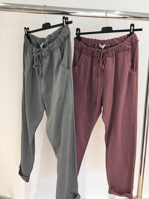 Premium joggers pink or grey
