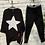 Thumbnail: Black paint star sweatshirt
