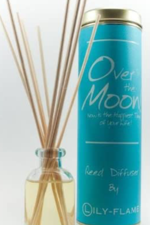 Lily-Flame Over the Moon Reed Diffuser 100ml