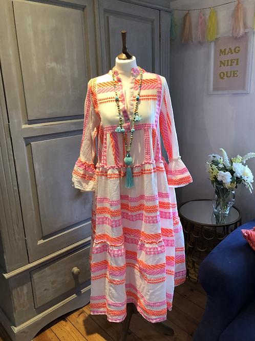 Neon Eulalia dress