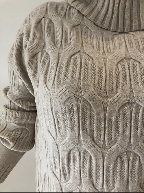 Cable knit jumper/dress