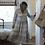 Thumbnail: Eulalia dress with Blue pattern
