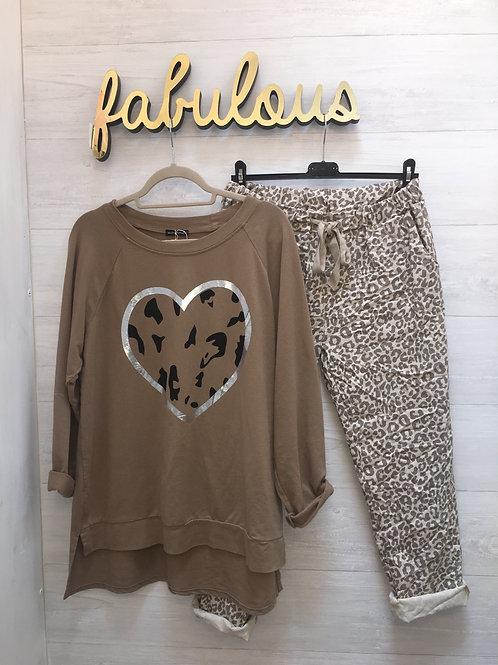 Leopard magic pants