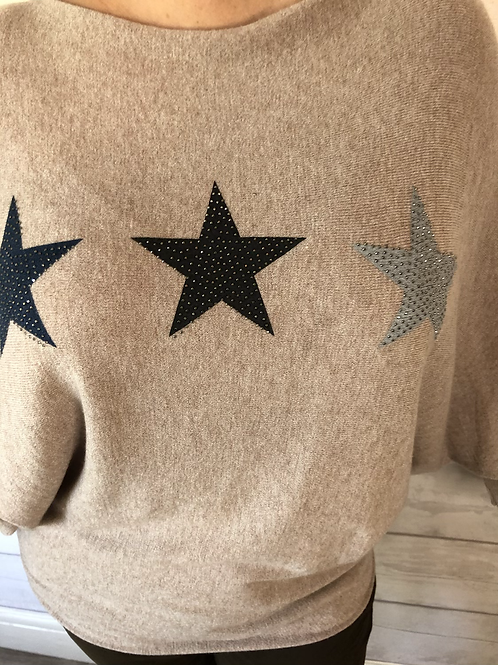 Sand soft star jumper