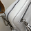 Thumbnail: Leather love strap bag in white