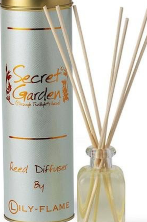 Lily-Flame Secret Garden Reed Diffuser 100ml
