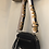 Thumbnail: Leather navy bag with love strap