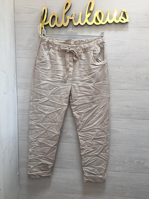 Light beige magic stretch pants
