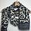 Thumbnail: Grey leopard scarf