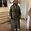 Thumbnail: Khaki linen maxi dress
