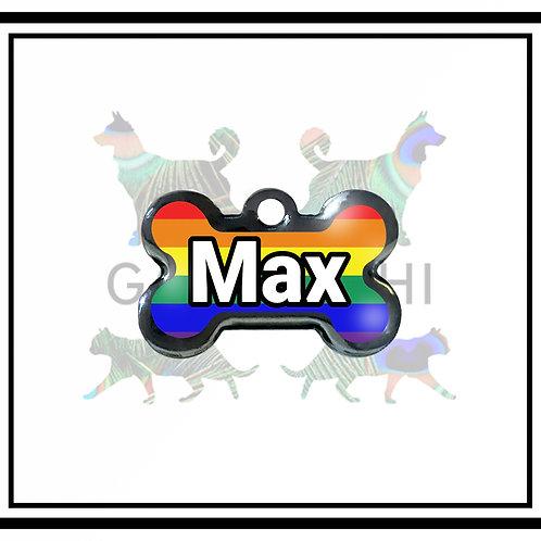 Placa de Identificação - Pride