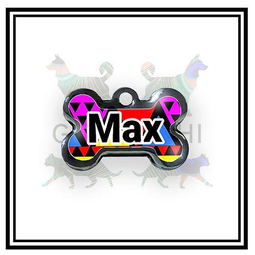 Placa de Identificação - Colorful