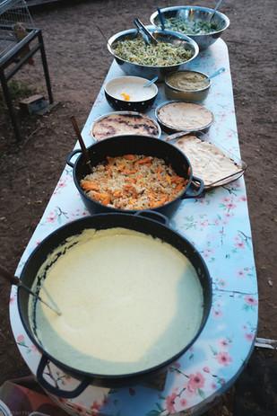 מחנה קונטקט בשדמאמא.