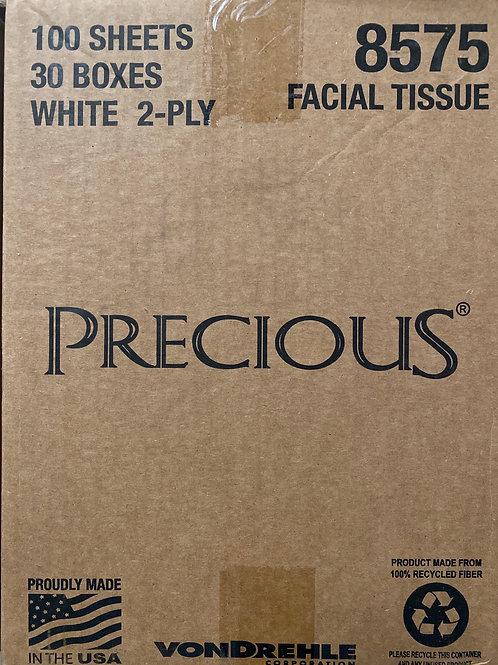 Precious Facial Tissue 30/cs