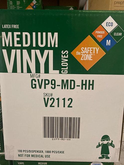 Vinyl Gloves 10/cs S,M,L,XL