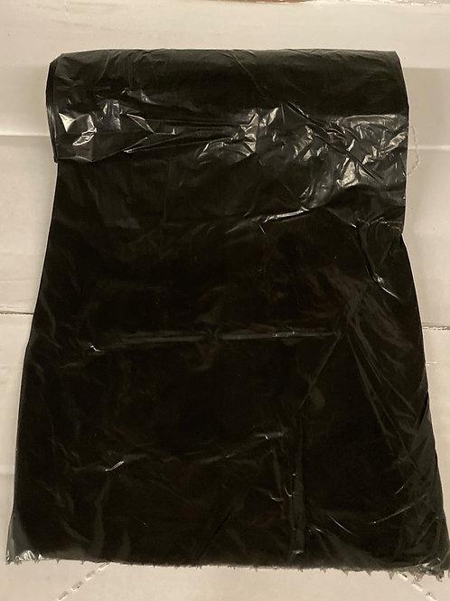 24x32 Black Trash Liner .7Mil