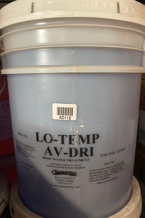 Lo-Temp AV-DRI Rinse Water Treatment