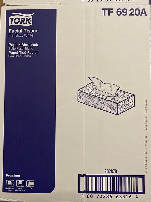 Tork Facial Tissue 30/cs