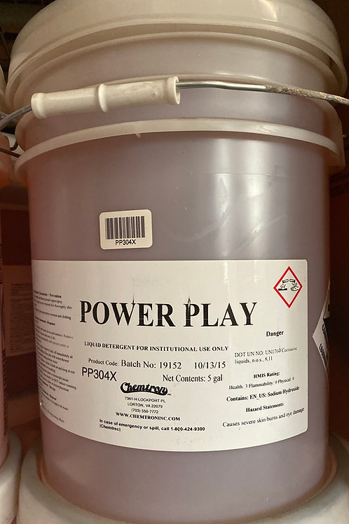 Power Play Detergent