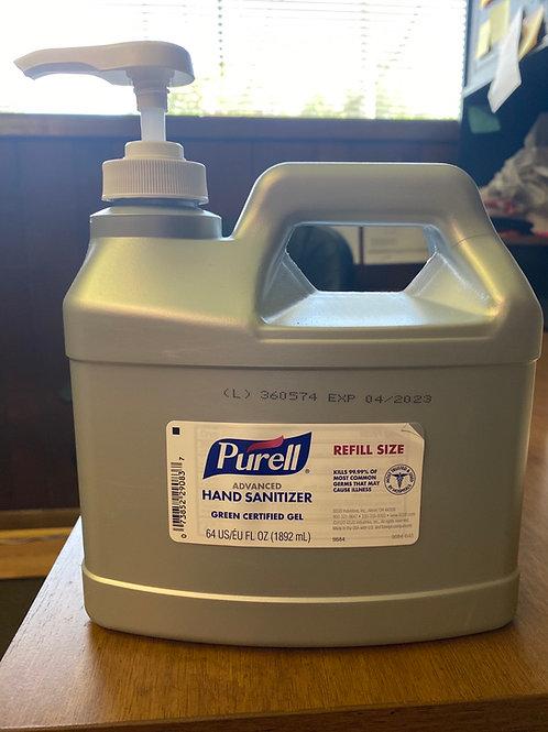 Purell Hand Sanitizer Gel with pump 64 FL OZ