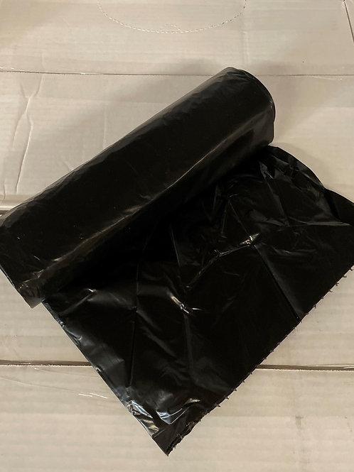 38x58 Black Trash Liner