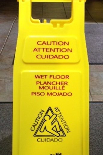 Wet Floor Sign Folding