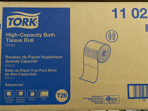 Tork High Capacity Tissue 36 rolls/cs
