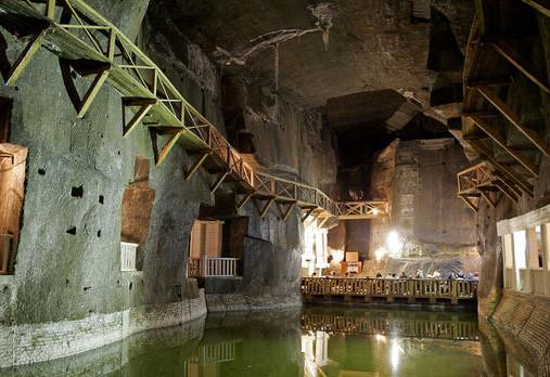 La mine de sel de Wieliczka - En activité durant 700 ans