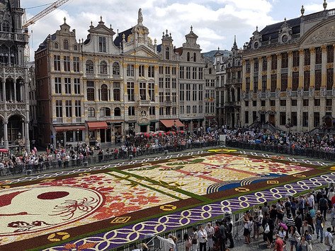 Balade sur la Grand-Place de Bruxelles