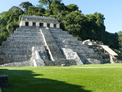 Palenque au Mexique - La cité maya d'un grand roi