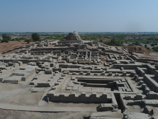 Mohenjo Daro - Ville antique du Pakistan
