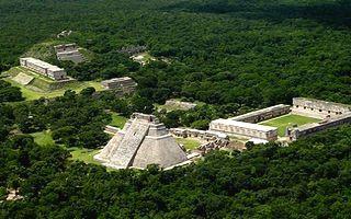 La péninsule du Yucatan au sud-est du Mexique abrite de nombreux sites archéologiques témoins de la civilisation maya