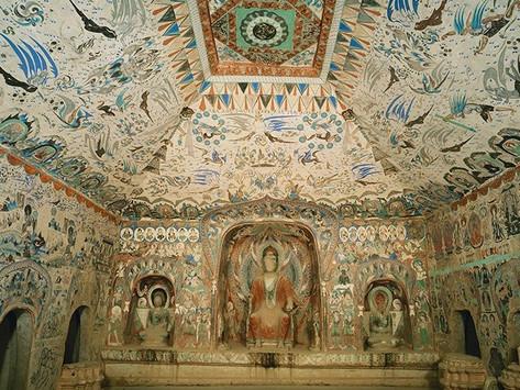 Les grottes de Mogao : un ensemble de chapelles bouddhistes