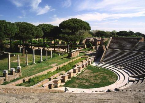 Ostia Antica - Le port de la Rome antique en 3 D