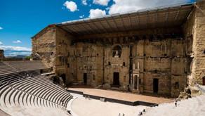 Le théâtre antique d'Orange                                       Un exemple du savoir-faire romain