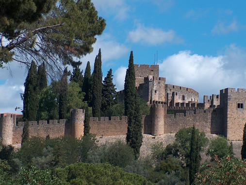 Tomar Chef lieu des Templiers au Portugal