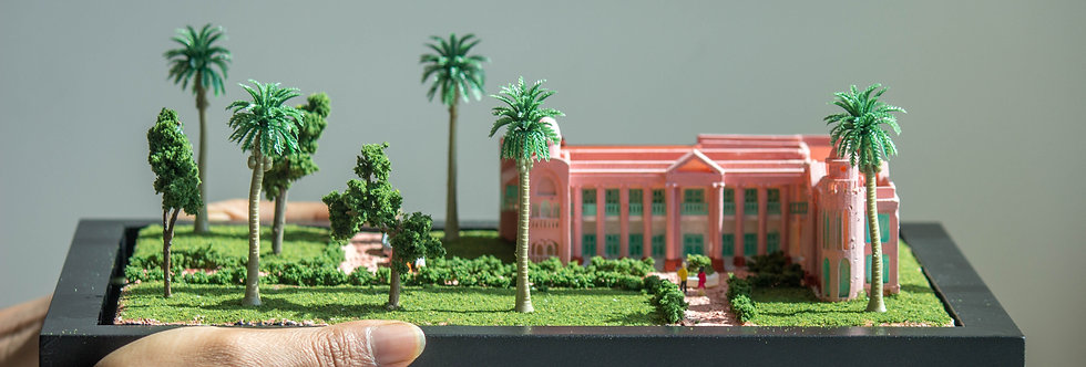 Dhanyakuria, Kolkata, India - Miniature Model Diorama