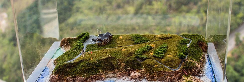 New South Wales Golf Course, Australia  - Miniature Model Diorama