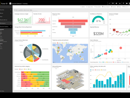 Creating Time Series dashbords with Microsoft Power BI